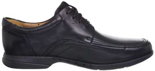 Clarks 20353115, Chaussures basses homme Noir (Black Leather)