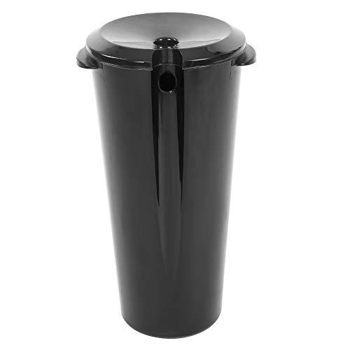 Mobile Behandlung (Friseurwaschbecken, Schmutzwasser Behandlung Eimer Rückwärtswaschbecken Mobiles Waschsessel Schwarz (ABS Kunststoff))