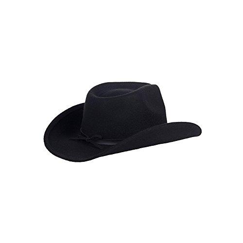 Hut Cowboy Houston schwarz 56