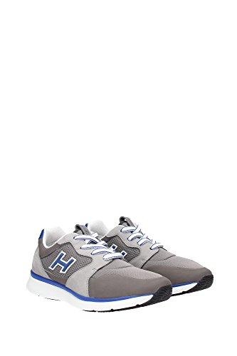 HXM2540U140CFQ678S Hogan Sneakers Uomo Tessuto Grigio Grigio