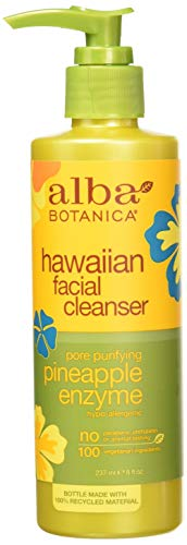 Alba Botanical Facial Cleanser Pineapple Enzyme, 8 Ounce by Alba Botanica -