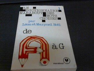 Dictionnaire Marabout des mots croisés : Tome 2