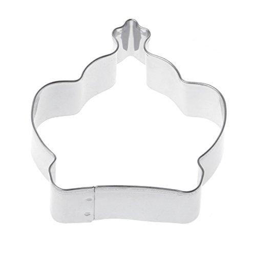 nt Keks Gebäck Form Cutter Kuchen dekorieren Form silber (Brownie-cutter)