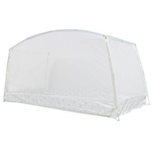 Sharplace Moustiquaire en Polyester Tente pour Chevet d'Etudiants - L,Porte Double