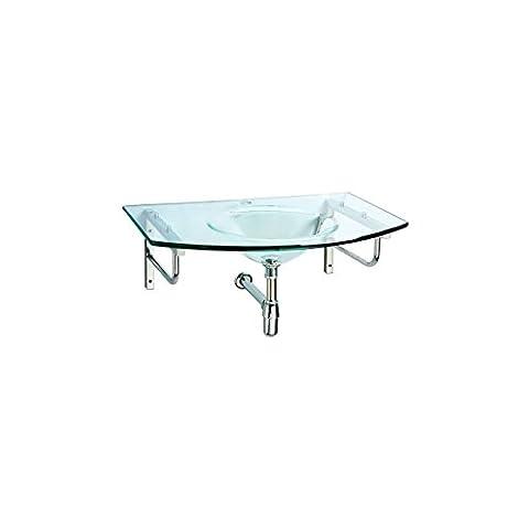 Plan Vasque Verre - Plan vasque en verre
