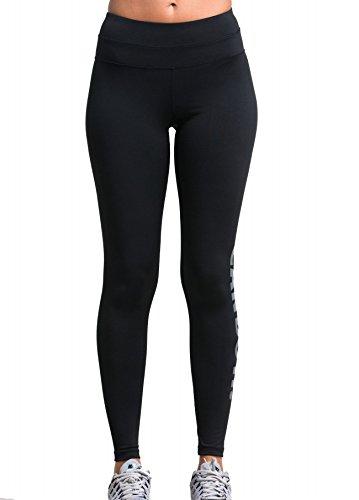 red-plume-nera-fitness-formazione-palestra-yoga-donna-in-esecuzione-sport-collant-leggings-nero2-l