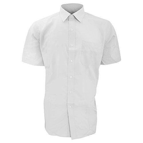 Brook Taverner - Camicia Manica Corta da Lavoro - Uomo Nero