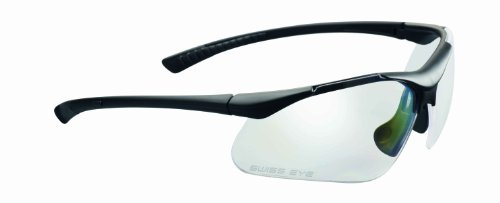 Swiss Eye Sportbrille Maverick, rubber black, - Glas Maverick