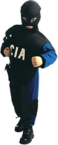 Kostüm Agent Cia - Sancto-Kostüm Agent CIA für Kinder, 128cm (sa-38466)