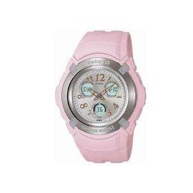 Casio BG191-4B3 - Reloj analógico - digital de mujer de cuarzo con correa rosa - sumergible a 100 metros de Casio