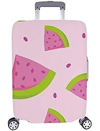 Lindo patrón de vectores sin Costura Patrón de sandía Rosa Maleta Spandex Maleta de Viaje Protector de Equipaje…