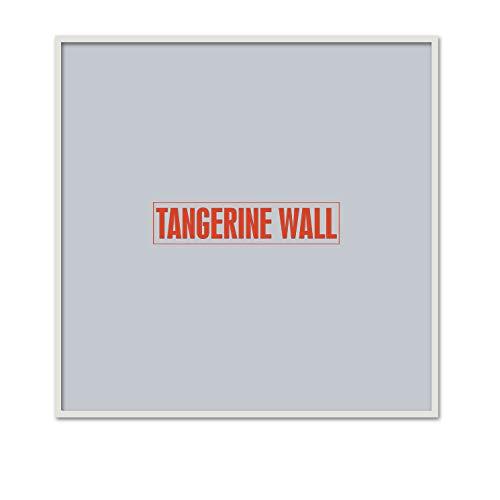 Tangerine Wall Marco Fino Madera auténtica 70x70