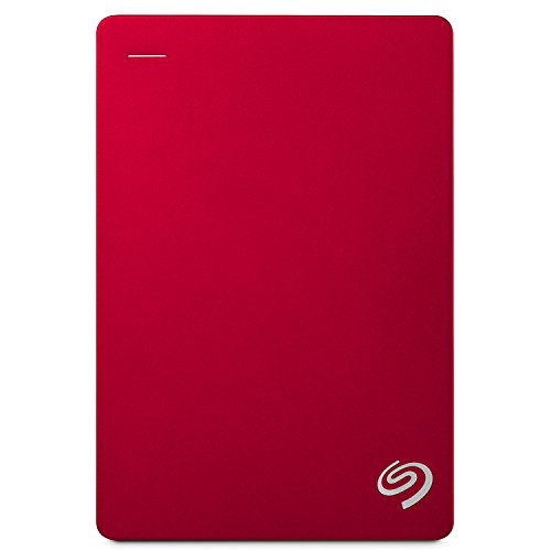 Seagate 4TB Backup Plus (Red) USB 3.0 External Hard Drive for PC/Mac...