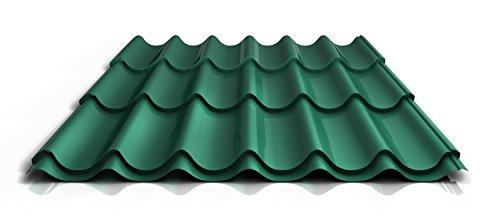 stahl-pfannenblech-ps47-1060rta-045-mm-25-um-polyester-farbenadelgrun-lange2900-mm