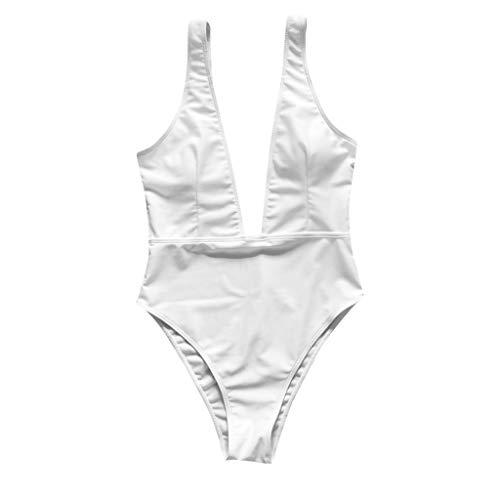 189f951ecd88 Donna Costumi interi Push-up Nero Puro Monokini Costumi da Bagno con  Cerniera Bikinis Mare