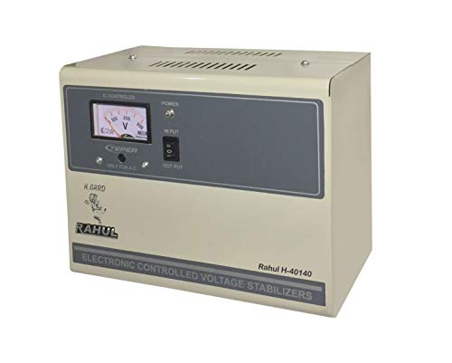 Rahul H-40140a 4 Kva/16 Amp in Put 140-280 Volt 3 Booster Best Suitable for 1.5 Tonns Air Conditioners Automatic Voltage Stabilizer