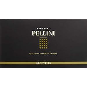 Pellini Caffè - Espresso Pellini Confezione Gift Box (mix multigusto da 40 Capsule), Livello di tostatura Medio… 2 spesavip