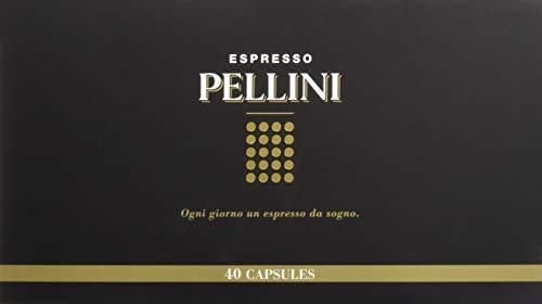 Pellini Caffè - Confezione da 40 Capsule, Compatibili Nespresso