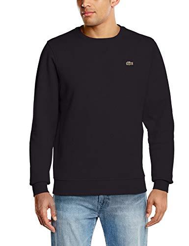 Lacoste Sport Herren Sh7613 Sweatshirt, Schwarz (Noir), XXXX-Large (Herstellergröße: 9)
