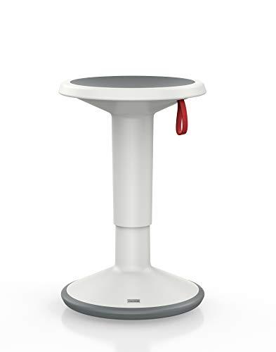 Interstuhl ergonomischer Hocker - Premium Sitzhocker höhenverstellbar und drehbar - Optimal für rückenfreundliches Sitzen