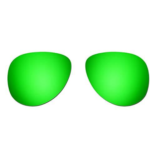 HKUCO Verstärken Ersatz-Brillengläser für Oakley Elmont (Medium) Sonnenbrille Grün Polarisiert