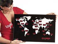 Lunartec Digitale Weltzeit-Uhr mit 24 Weltstädten - 3