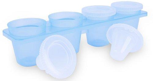 Thumbs Up Ice Shot Gläser (4er Pack), Kunststoff, weiß, 26.5 x 7 x 7 cm, 4-Einheiten