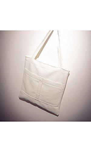 GSPStyle - Sacchetto donna white