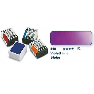 Akademie-Aquarellfarbe 1-2 Napf, Violett [Spielzeug]
