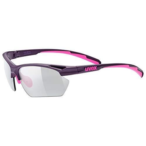 Uvex Erwachsene Sportstyle 802 SMA.Vario Sportsonnenbrille, lila, one Size