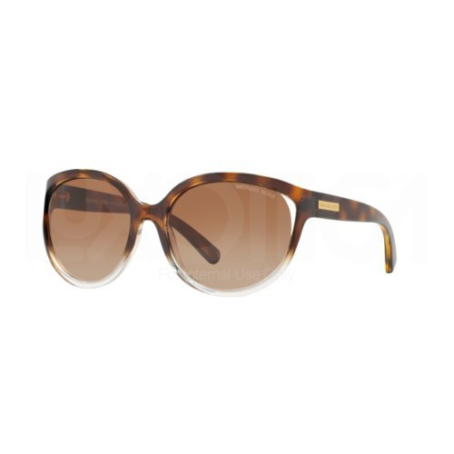 Michael Kors 0 TORTOISE CLEAR FRAME WITH BROWNGRADIENT LENS