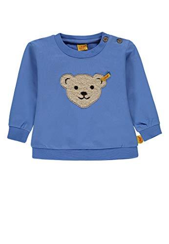 Steiff Baby-Jungen Sweatshirt 1/1 Arm, Blau (Marina Blue 3056), 62