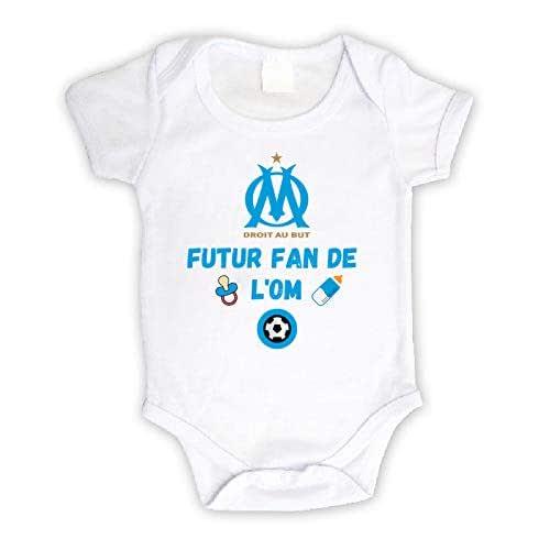 Body b/éb/é personnalis/é futur fan du FC Metz,body manche courte