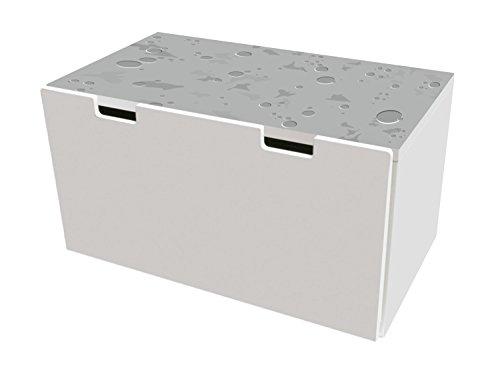 Paisaje lunar pegatinas | pegatinas para muebles | BTD02 | adecuado para el arcón de banco STUVA de IKEA para...