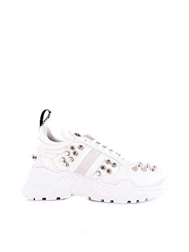 RICHMOND Herren 7013Bwhite Weiss Leder Sneakers