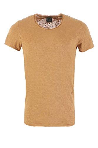 JACK & JONES Herren T-Shirt Jorbas Tee SS U-Neck NOOS TigersEye