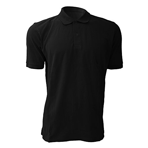 Jerzees Colours Herren Polo-Shirt, Kurzarm Fuchsie