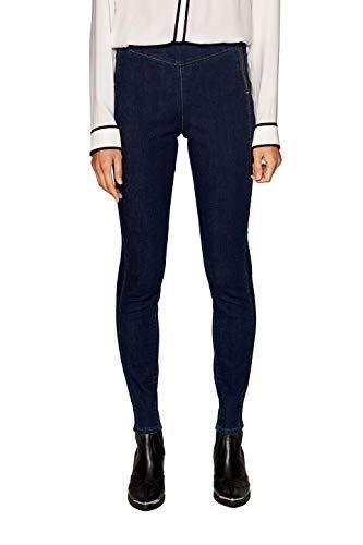 edc by ESPRIT Damen 019CC1B010 Skinny Jeans, Blau (Blue Dark Wash 901), W30/L32 (Herstellergröße: 30/32)