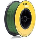 BEEVERYCREATIVE CBA110345 BEESUPPLY PLA Filament für 3D Drucker, 1,75 mm, 330 g, A115, Reingrün - gut und günstig