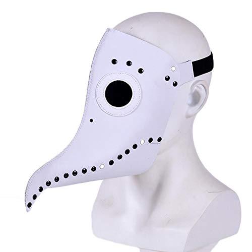 iuyem Halloween Vogel Maske Funny Face Vollmaske Cosplay Party Kostüm Requisiten Schals