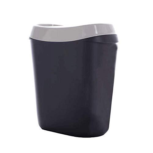Shake-top desktop petite poubelle de mode créative poubelle de table cuisine seau de débris comptoir
