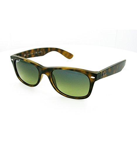Preisvergleich Produktbild Ray-Ban New Wayfarer RB2132 C52 894 / 76 Polarisierende Sonnenbrillen