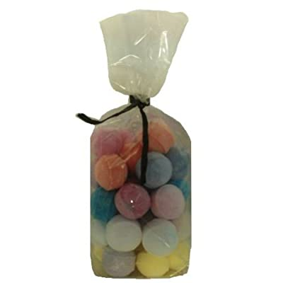 30 x Random Scented Bath Marbles Fizzers Mini Bombs (10g Each) Free Gift Bag from Bath Bubble & Beyond