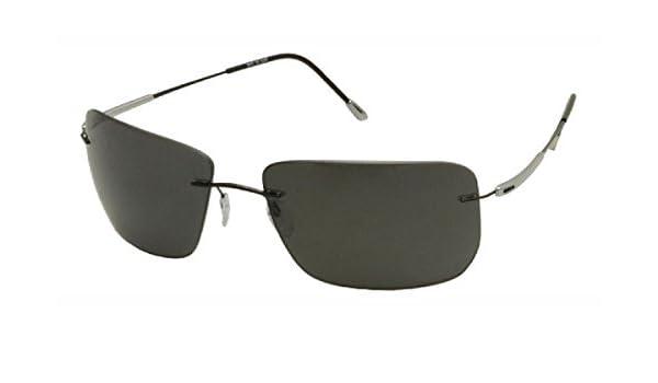463aecf58f0 Silhouette Sunglasses 8655 S ADVENTURER Polarized 6200  Amazon.co.uk   Clothing
