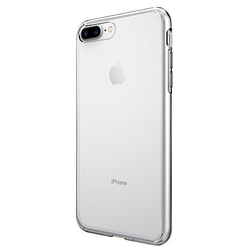 iPhone 7 Plus Case, Spigen® [Liquid Crystal] Ultra-Thin [Crystal Clear] Premium Semi-transparent / Exact Fit / NO Bulkiness Soft Case for iPhone 7 Plus (2016) - (043CS20479)