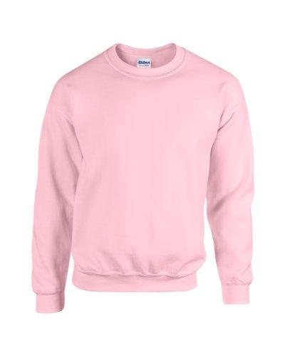 Gildan Blend TM Crew Neck Sweatshirt Erwachsene Licht Rosa L L,Licht Rosa -