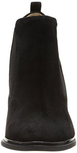 Calvin Klein - Jalene Kid Suede/elastic, Scarpe col tacco Donna Nero (Schwarz (BLACK / BLK))