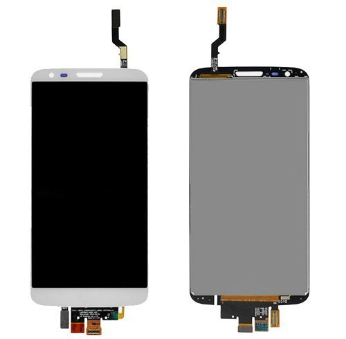 LCD Screen Display Digitizer Touch Panel Assembly For LG Optimus G2 VS980 LS980 (White)