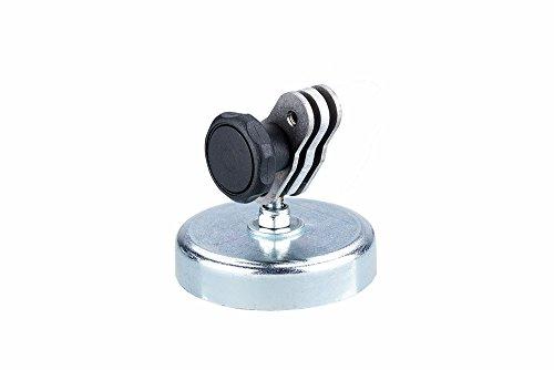 Preisvergleich Produktbild NEUE Version Ortec Action Camera Magnethalter XL-DKG D63 mit Kugelgelenk Go-Q Link für alle GoPro HERO & Actionpro X8 und X7 Actioncameras