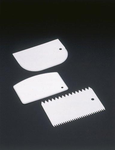 comprare on line Metaltex 252521 3pc(s) kitchen spatula/scraper - kitchen spatulas & scrapers (White, 95 mm, 14.8 cm, 5 mm, 245 mm, 50 mm) prezzo